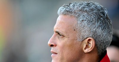 Keith Curle: Pleased with Fabian Spiess showing