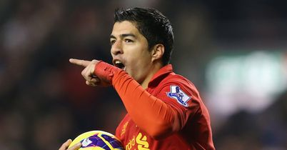 Luis Suarez: His moment of brilliance earned Liverpool a point