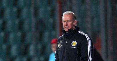 Billy Stark: Oversees a 2-1 win as caretaker Scotland manager