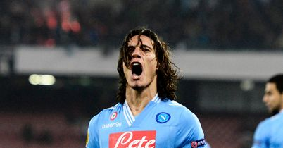 Edinson Cavani: Being monitored by Atletico Madrid