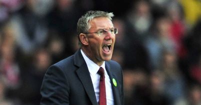 Nigel Adkins: Backed to take over at Blackpool