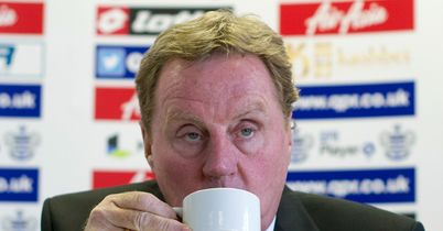 Harry Redknapp: Settles down to a cuppa and the Podcast