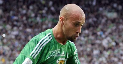 Renaud Cohade: On target for St Etienne against Troyes