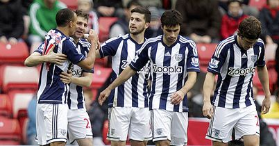 Gera: Albion celebrate his goal
