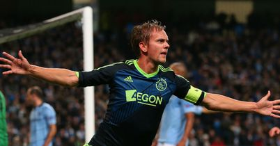 Siem de Jong: Scored both of Ajax's goals