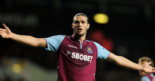 Andy Carroll: Signed six-year deal at West Ham