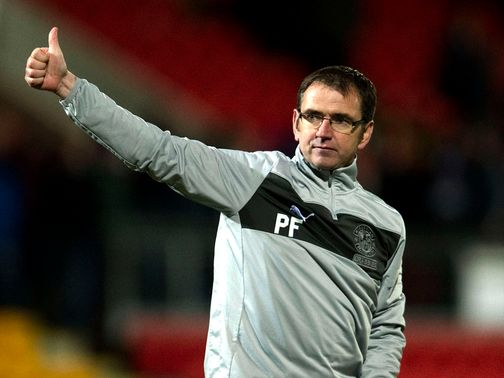 Pat Fenlon: 'We are working away'