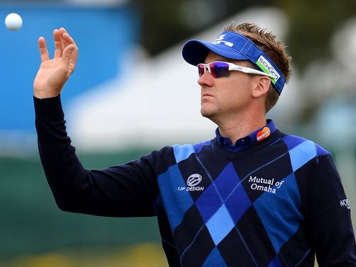 Ian Poulter: Shares second place