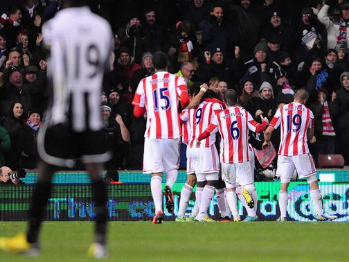 Stoke can celebrate another home win