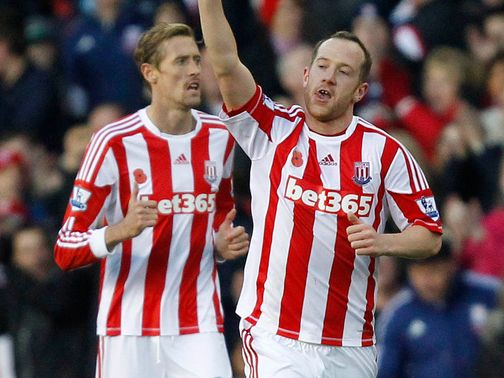 Charlie Adam: Off the mark at Stoke