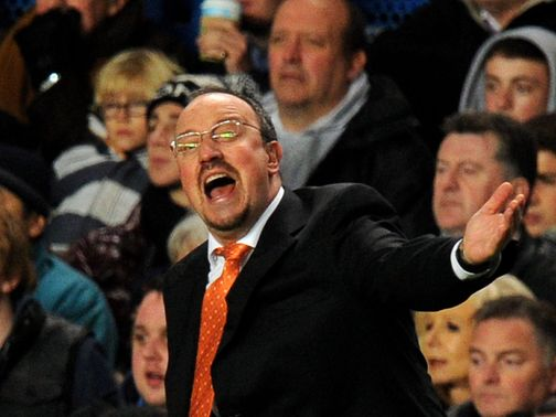 Benitez: Yet to win a game as Chelsea boss