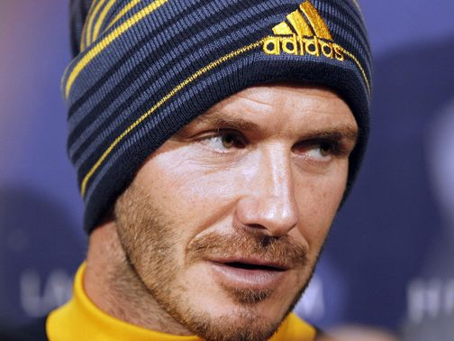 Beckham: Rules out move to Australia