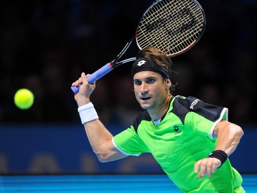 David Ferrer: Opens final against Radek Stepanek
