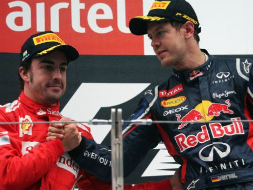 Alonso and Vettel are both battling for a third world championship.