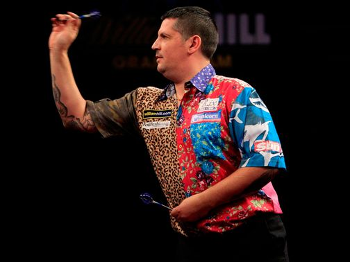 Gary Anderson: Former Premier League champion