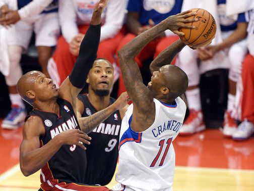 Jamal Crawford helps the Clippers to victory.