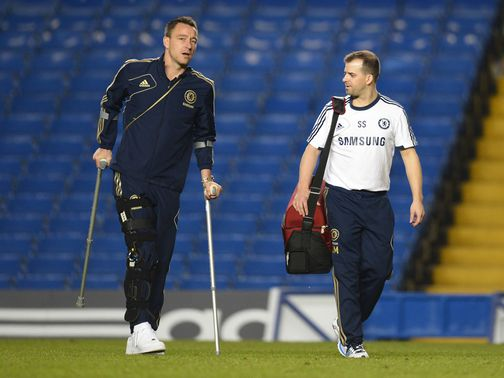 John Terry: Set for scan today