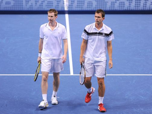 Jonny Marray and Freddie Nielsen: Lost final group game
