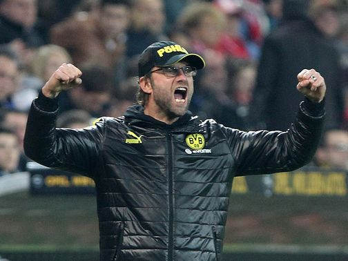 Jurgen Klopp: Sets his signs on finishing runners-up