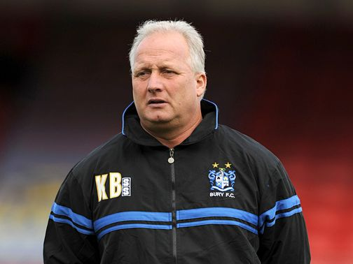 Kevin Blackwell: His Bury can beat Scunthorpe