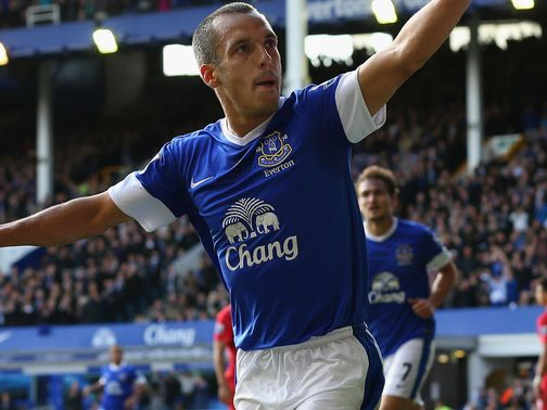 Osman: Loving life at Everton