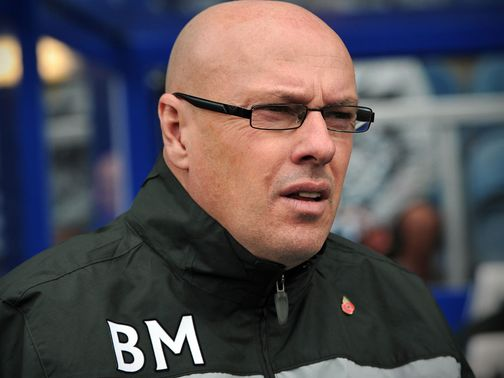 Brian McDermott: Has a good relationship with Royals owner