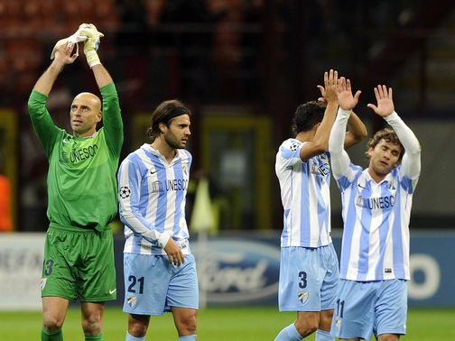 Malaga: First team to progress to knockout stages