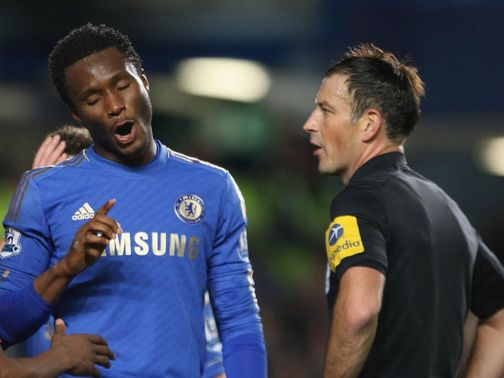 Mikel: Charged with misconduct