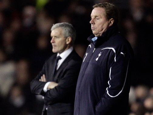 Harry Redknapp and Mark Hughes: Dominating headlines
