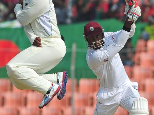 Samuels cracks another boundary for the tourists