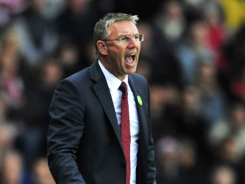 Nigel Adkins: Continues to fight on as Saints boss