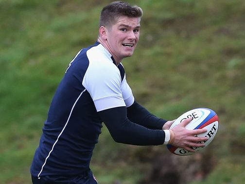 Owen Farrell: Back in the England side