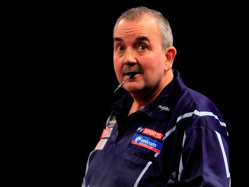Phil Taylor: Prepares for World Darts Championship