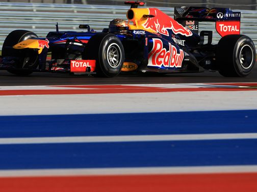 Sebastian Vettel: Set the early pace in Texas
