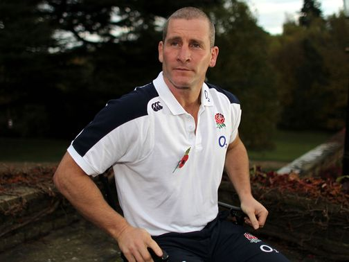 Stuart Lancaster: Praised England&#39;s inner belief