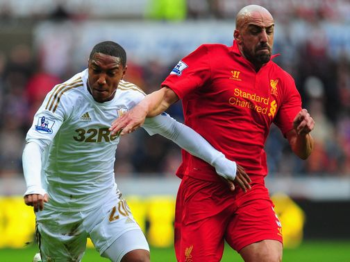 Jose Enrique: Back in action for Liverpool