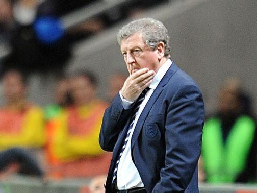 Roy Hodgson's England remain sixth in FIFA's world rankings