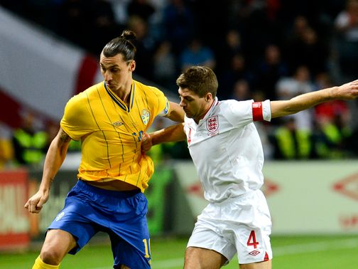 Gerrard: Full of praise for four-goal Ibrahimovic
