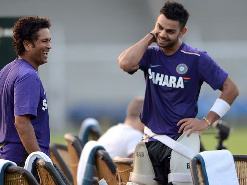 Tendulkar (left): Set to entertain the Mumbai crowd