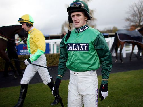 Tony McCoy: Successful journey to Naas