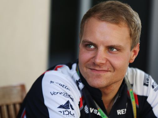 Valtteri Bottas: Williams race driver