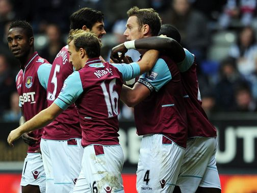 Kevin Nolan: Winning goal against former club