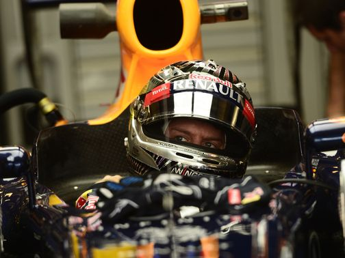 Sebastian Vettel: Managed just two laps