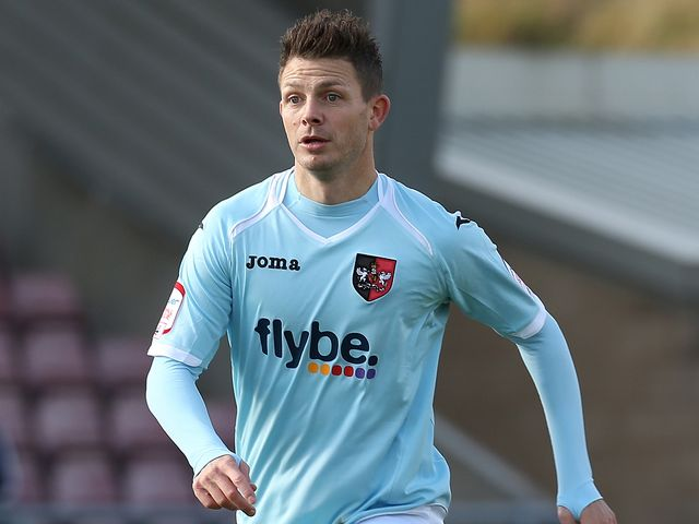 Jamie Cureton: Netted the winner for Exeter