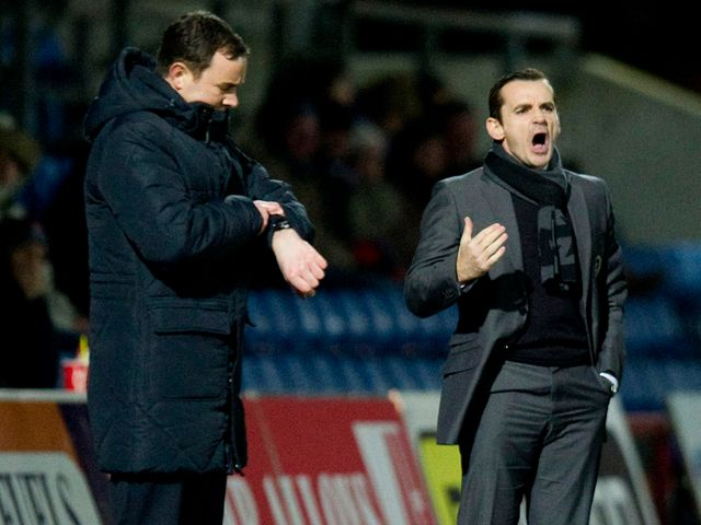 The two managers witnessed a goalless draw