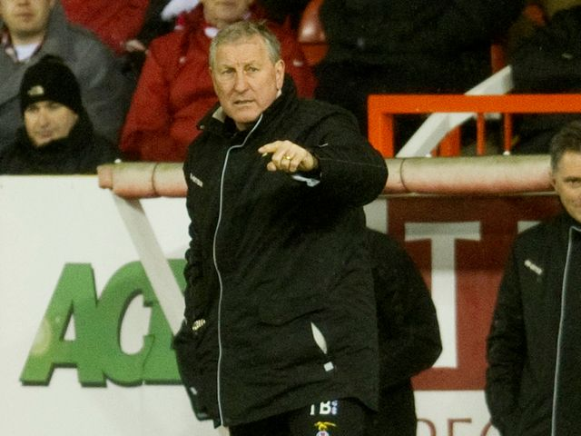 Terry Butcher: Impressed with Caley performance