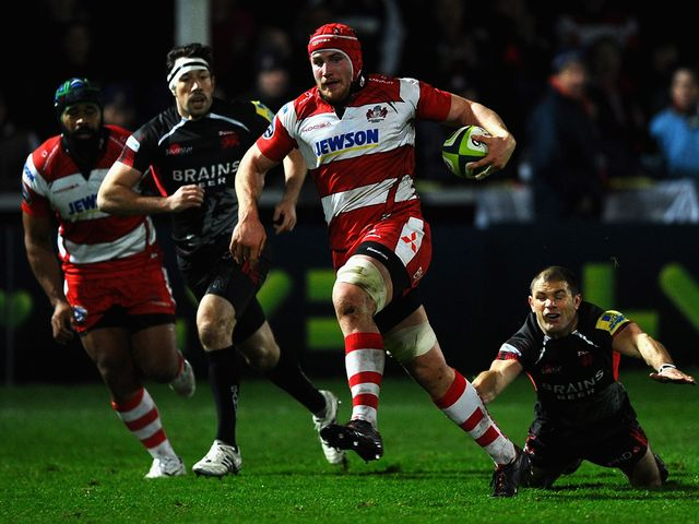 Ben Morgan: Hat-trick of tries for Gloucester