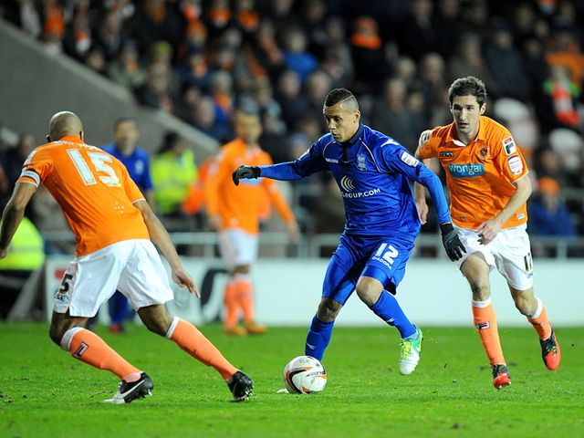 Ravel Morrison in action for Birmingham