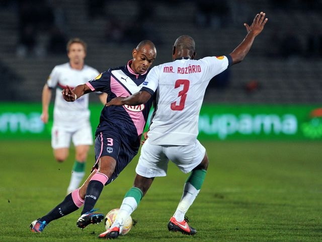 Henrique in action for Bordeaux