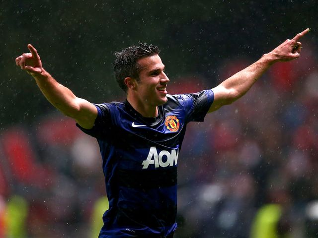 Van Persie sparked the comeback for Man United